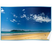 Sunny day,Dunk Island view. Poster