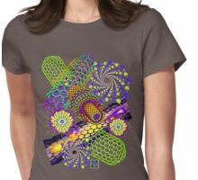 """Nanotubes 1 - PURPLE""© Womens Fitted T-Shirt"