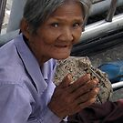 Thailand-Bangkok sidewalk vendor by DAdeSimone