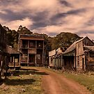 The Old Ghost Town by Gerard Rotse