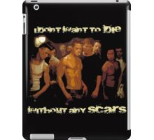 Without any Scars iPad Case/Skin