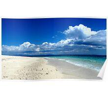 MIDDAY STROLL-BOUNTY ISLAND FIJI Poster