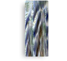 BLUE FLOW Canvas Print