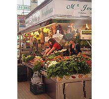 Mercado Central, Valencia Photographic Print