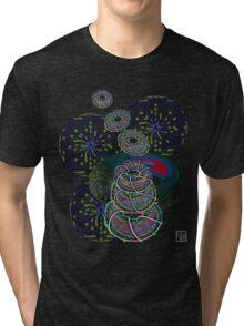 """Toroidals""© Tri-blend T-Shirt"