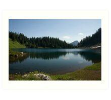 Twin Lakes 2 Art Print