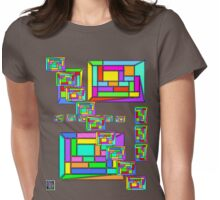 """""""Pentagonal Icositetrahedral Graphs - BRIGHTS""""© Womens Fitted T-Shirt"""