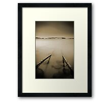 Guide Me - Sandy Bay, Hobart, Tasmania Framed Print
