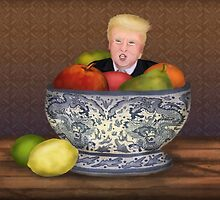 Still Life with The Donald by Kim  Harris