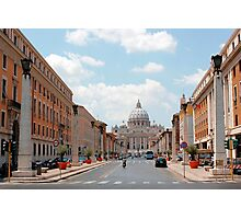 Vatican City Photographic Print