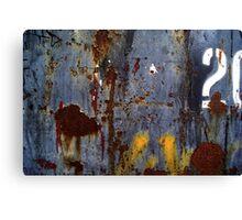 20 Canvas Print