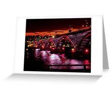 Evening Peace Bridge Greeting Card