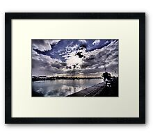 An afternoon in Williamstown Framed Print
