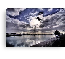 An afternoon in Williamstown Canvas Print