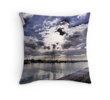 An afternoon in Williamstown Throw Pillow