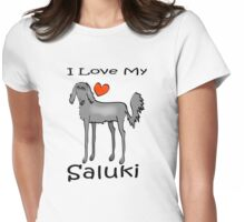 Saluki Womens Fitted T-Shirt