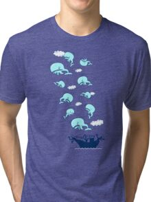Where Have the Whales Gone? Tri-blend T-Shirt