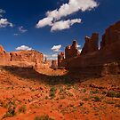 Park Place, Arches NP by MattGranz