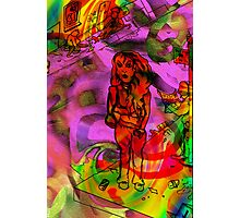 Day Tripper colour version. Photographic Print