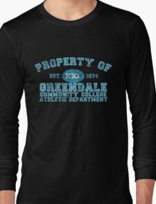 Greendale Community College Athletic Department Long Sleeve T-Shirt