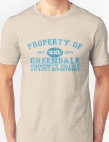 Greendale Community College Athletic Department Unisex T-Shirt