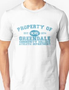 Greendale Community College Athletic Department T-Shirt