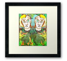 Muted Mullets and other oddities. Framed Print