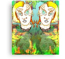 Muted Mullets and other oddities. Canvas Print