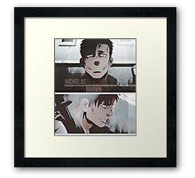 Nicholas Brown - Gangsta Framed Print