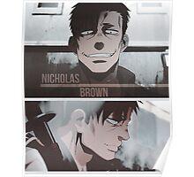 Nicholas Brown - Gangsta Poster