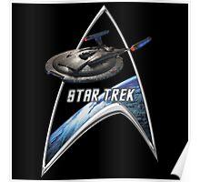StarTrek Command Silver Signia Enterprise NX01 2 Poster