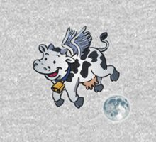 Bovinus, The Winged Cow! One Piece - Short Sleeve