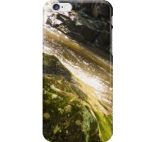 Water over rocks iPhone Case/Skin