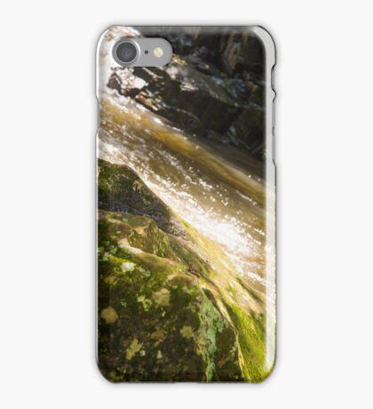 Water over rocks iPhone Case/Skin