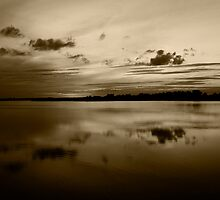 Norfolk Sunset Sepia by ArtforARMS