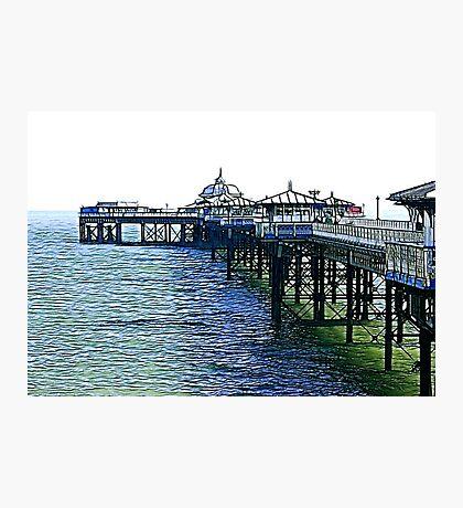 The Pier -Llandudno -North Wales Photographic Print