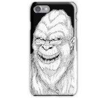 Sasquatch iPhone Case/Skin