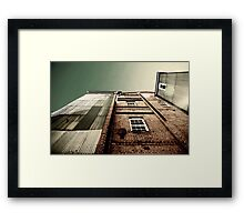 Grungy Building in York Framed Print