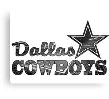 Stadium - Cowboy Canvas Print