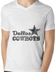 Stadium - Cowboy Mens V-Neck T-Shirt