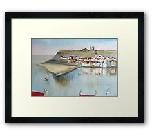 Patterns of Whitby Framed Print