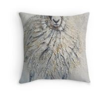 Swaledale Ewe Throw Pillow