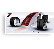 Nike Concept Car Canvas Print