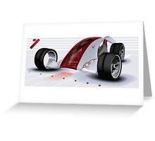 Nike Concept Car Greeting Card