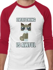 Grumpy Bricks Men's Baseball ¾ T-Shirt