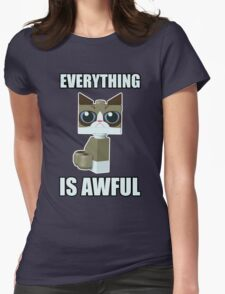 Grumpy Bricks Womens Fitted T-Shirt