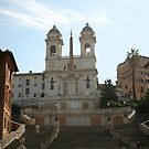 The Spanish Steps by hjaynefoster