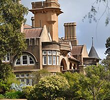 Historic Iandra Castle  by julie anne  grattan