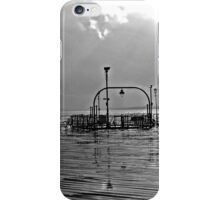 wet south coast pier 1  iPhone Case/Skin