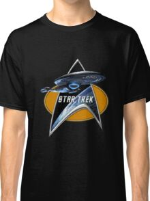 StarTrek Voyager Command Signia Chest Classic T-Shirt